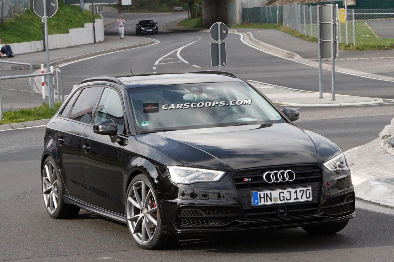 Audi Rs3 2015 Spypic Carblogger
