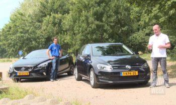 Test Volvo V40 vs Volkswagen Golf 7