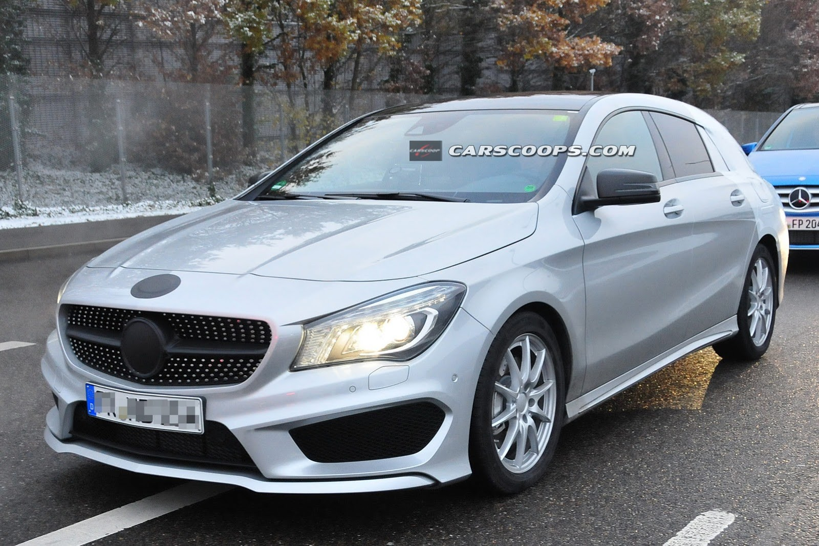 gesnapt mercedes cla shooting brake carblogger. Black Bedroom Furniture Sets. Home Design Ideas