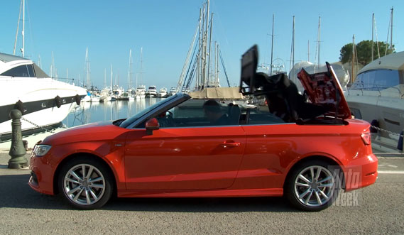 test audi a3 cabriolet carblogger. Black Bedroom Furniture Sets. Home Design Ideas