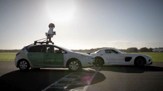 top gear testcircuit nu ook op google street view carblogger. Black Bedroom Furniture Sets. Home Design Ideas
