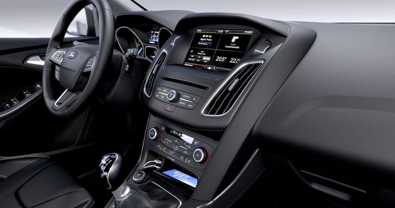 Interieur Ford Focus Modeljaar 2015 Carblogger