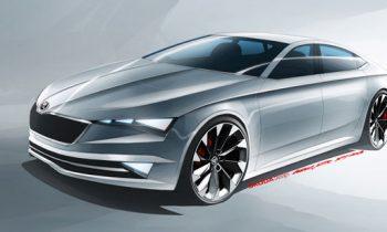 Skoda toont vierdeurs coupé-concept in Genève