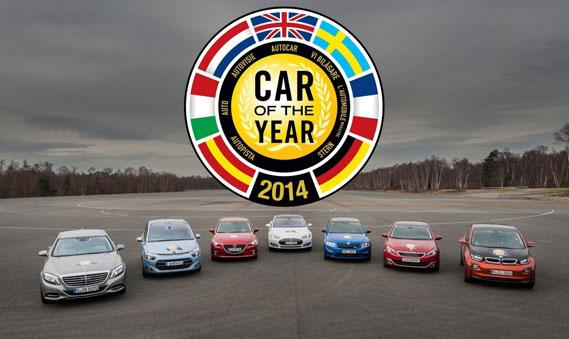 Auto van het Jaar 2014