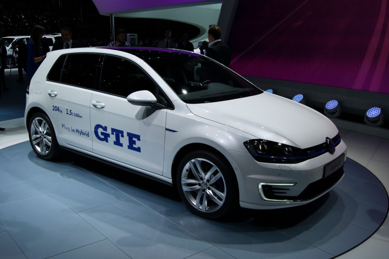 vw golf gte gti onder de plug in hybrides carblogger. Black Bedroom Furniture Sets. Home Design Ideas