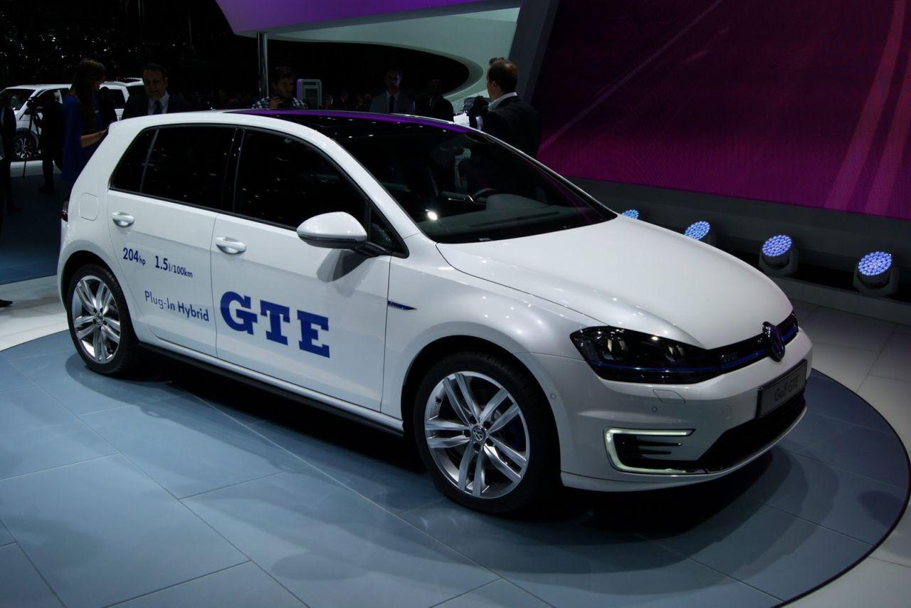 Vw Golf Gte Gti Onder De Plug In Hybrides Carblogger