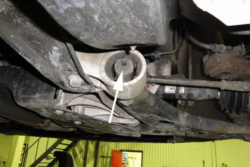 Draagarmrubber Volkswagen Polo