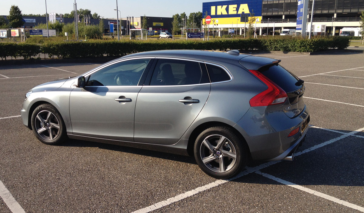 test volvo v40 d4 business leasekanon van 2014 carblogger. Black Bedroom Furniture Sets. Home Design Ideas