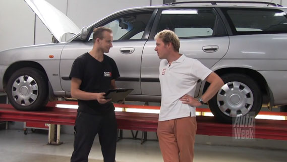 Daewoo Nubira in Autoweek's Klokje Rond