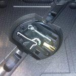 Reservewiel onder bagageruimte Peugeot 308 SW 2014