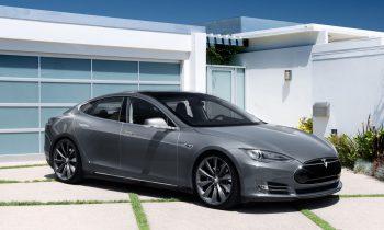 Tesla Model S grijs