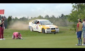 Allsecur BMW op golfbaan