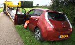 Elektrische auto lege accu