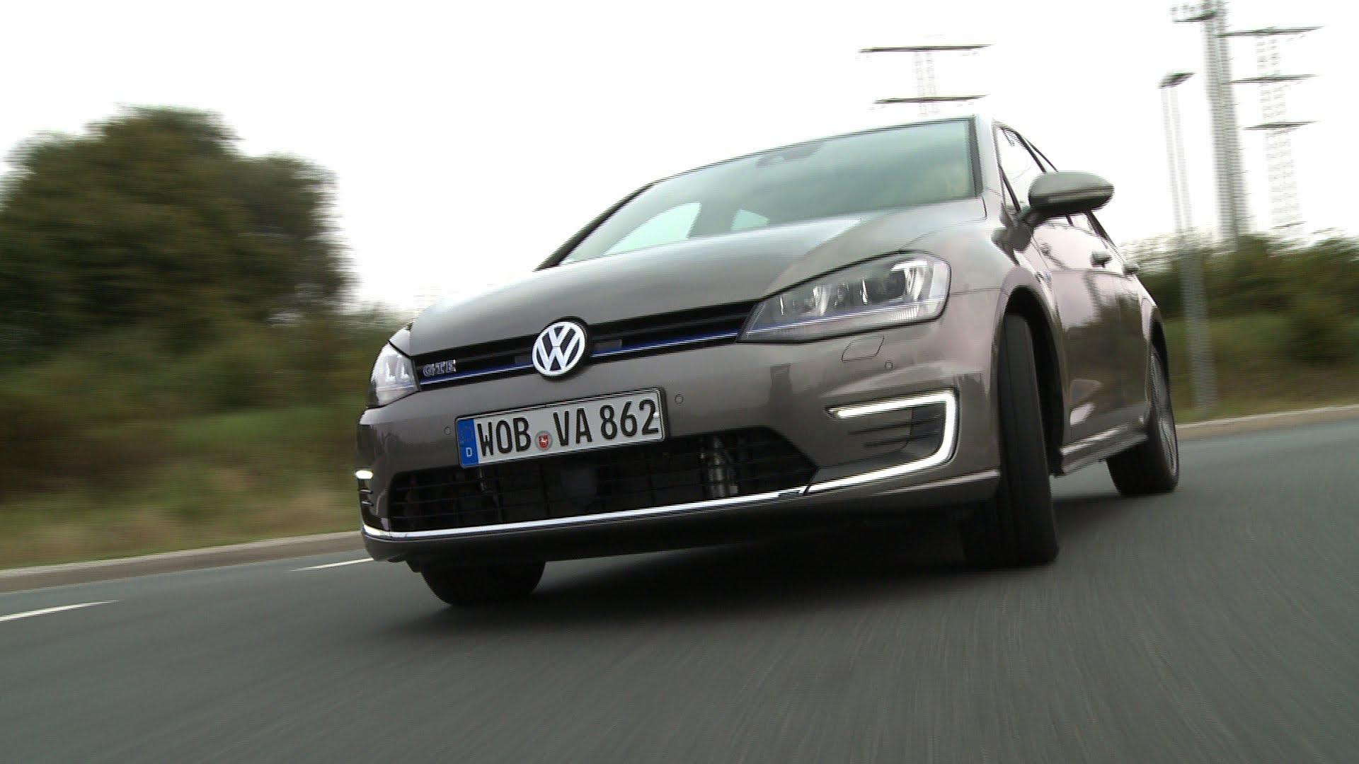 Test Volkswagen Golf Gte Plug In Hybride
