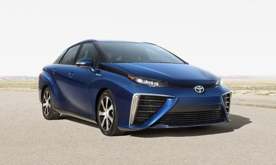 Toyota's waterstofauto