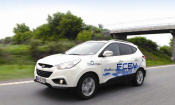 Hyundai ix35 FCEV op waterstof