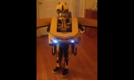 Transformer kostuum