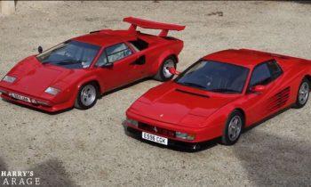 Test Ferrari Testarossa