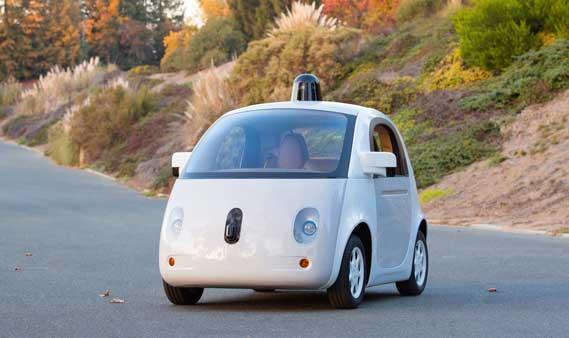 Google's zelfrijdende auto