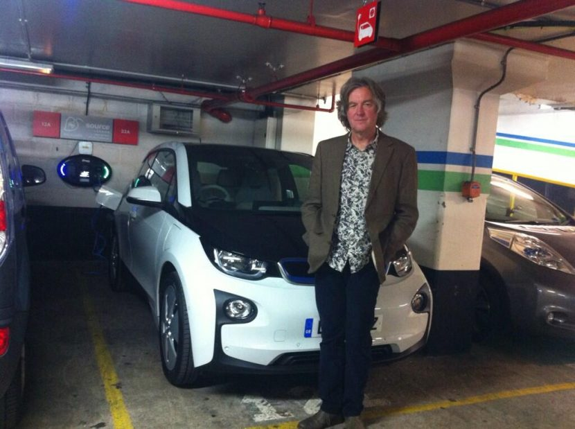 James May BMW i3