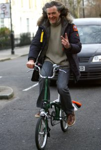 James May op de fiets