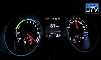 Golf GTE 0-100 acceleratie