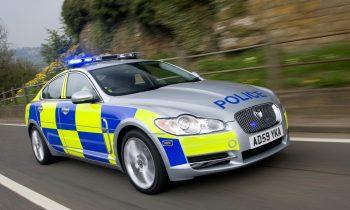 Jaguar XF Engelse politie