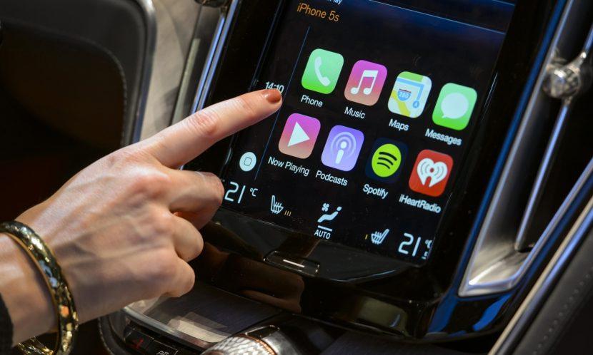 Apple Carplay in de nieuwe Volvo XC90