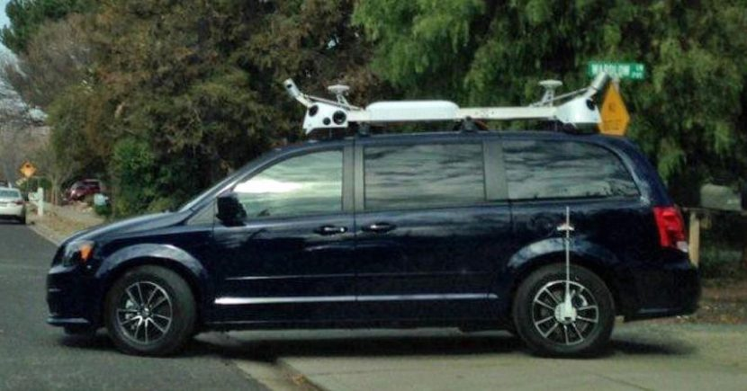 Apple's zelfrijdende auto