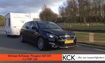 Peugeot 308 sw trekauto
