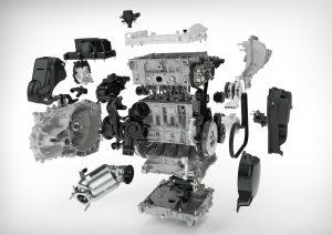 Volvo Drive-E 3 cilinder benzinemotor