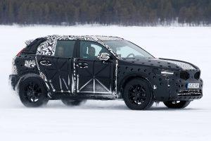 Volvo XC40 2017 spyshot zijkant
