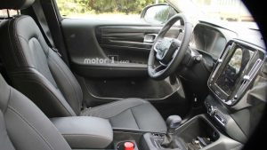 Interieur (voorin) Volvo XC40 spyshots