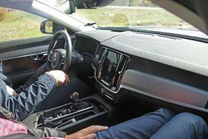 Interieur Volvo S90 (spyshot)