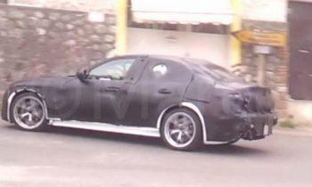 Alfa Romeo Gulia Spyshot