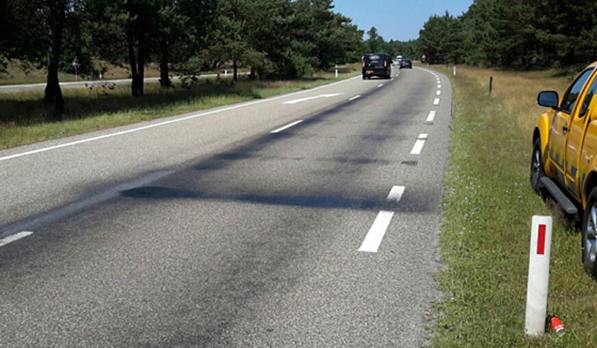 Nat asfalt