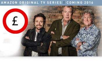 Clarkson, Hammond en May bij Amazon Prime in 2016