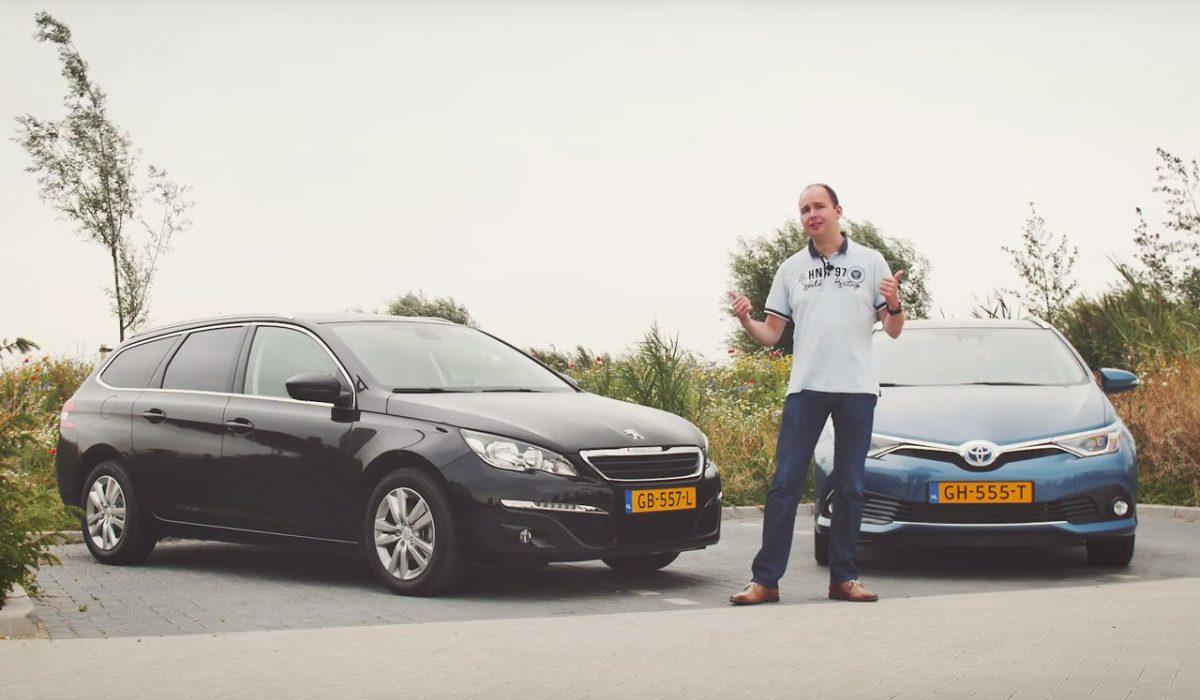 Dubbeltest Peugeot 308 Sw Bluehdi Vs Toyota Auris Ts Hybrid Carblogger