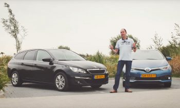 Vergelijk Peugeot 308 SW BlueHDI vs Toyota Auris TS Hybrid