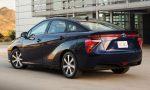 Toyota Mirai achterkant