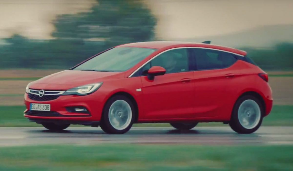 Test Opel Astra 2015