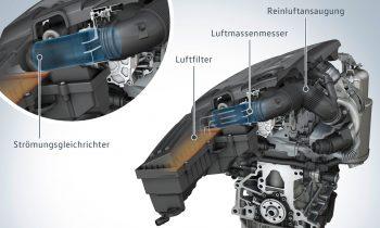 1.6 TDI Motor ( EA 189 ): Strömungsgleichrichter