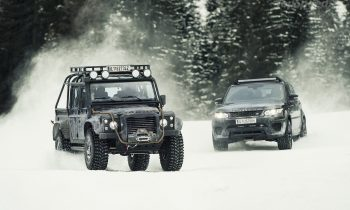 Land Rover en Range Rover Sport SVR in Spectre