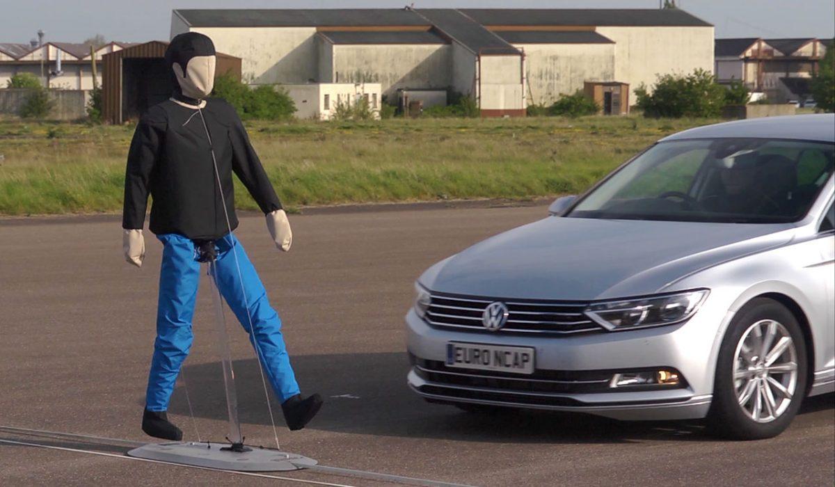 Voetgangersdetectie VW Passat