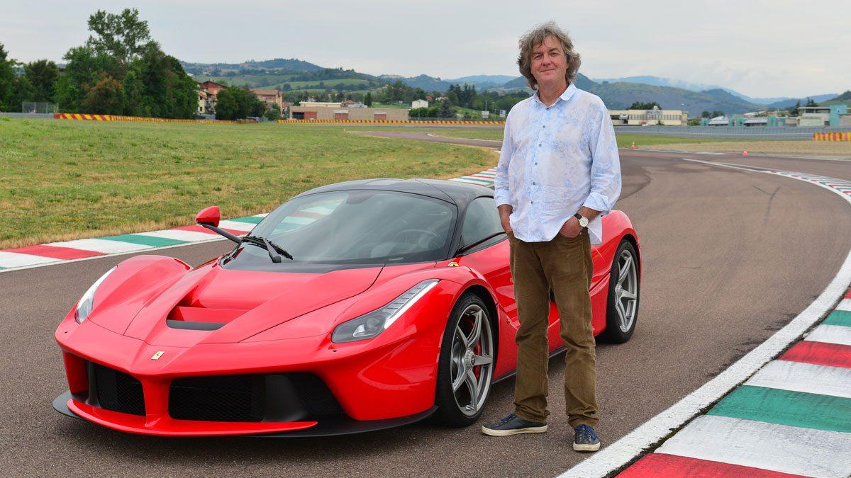 Review Ferrari LaFerrari door James May van Top Gear