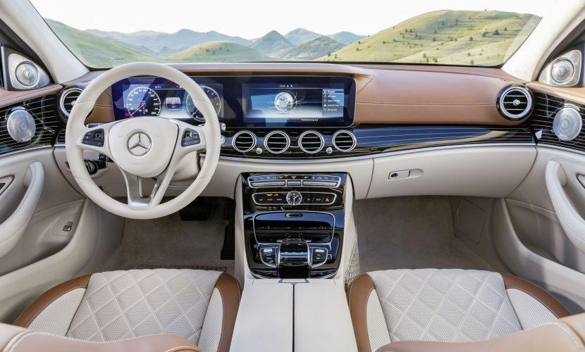 Interieur Mercedes-Benz E-Klasse Limousine (W 213) 2016