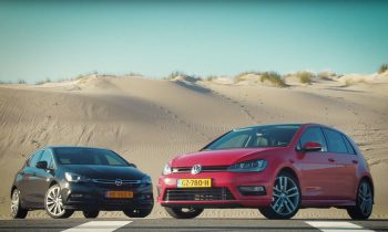 Test Opel Astra vs. VW Golf 7 2015