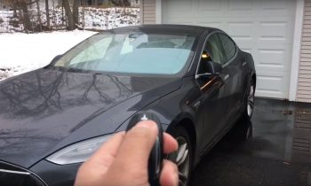 Tesla Model S Summon demo