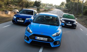 Ford Focus RS vs Golf 7 R vs Audi RS3