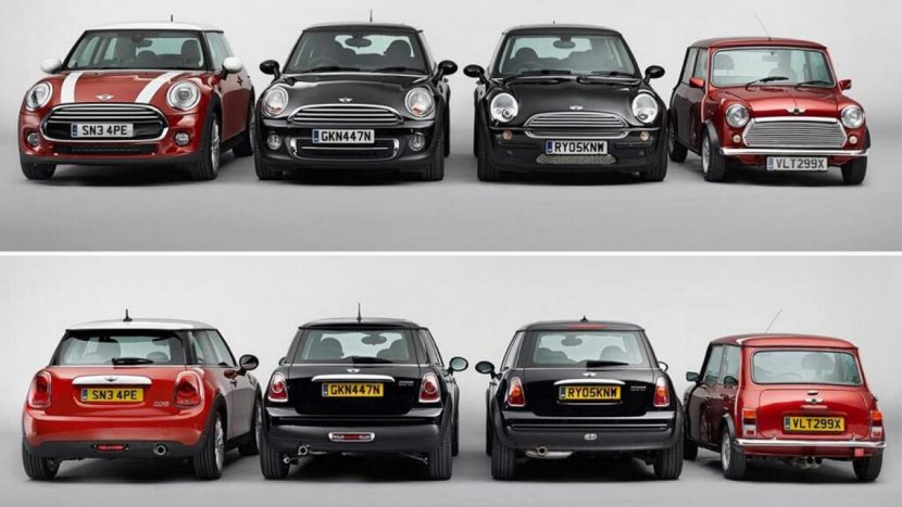 Mini Cooper 2015 vs oudere generaties